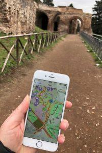 Mit der App unterwegs in Rom