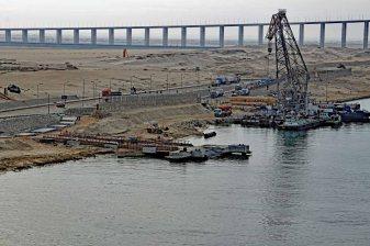 Brücke über den Sueskanal