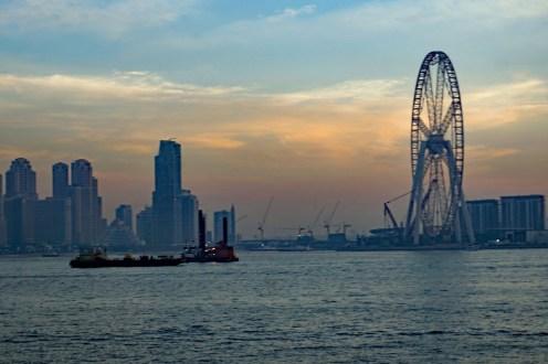Das Riesenrad in Dubai
