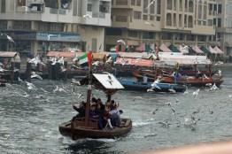 Mit dem Wassertaxi auf dem Dubai Creek unterwegs