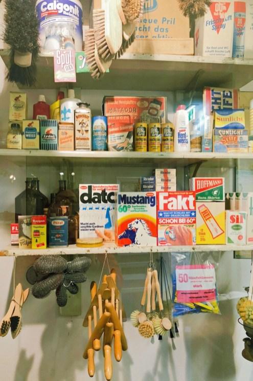 Supermarkt früher: krämerstube im Altonaer Museum
