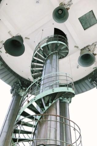 Ganz hoch: Turmbesteigung in der Kirche Sankt Michaelis in Hamburg