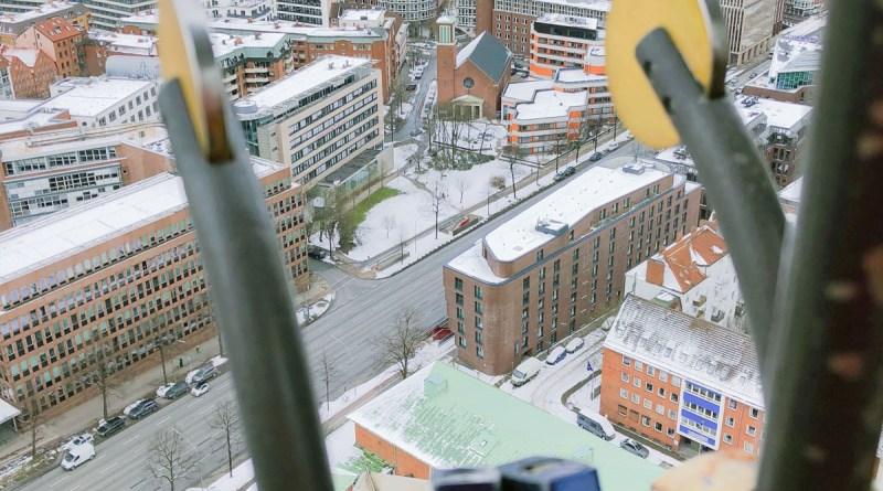 Blick über Hamburg vom Michel