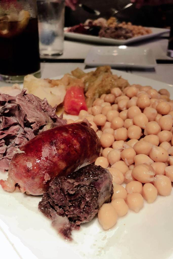 Cocido completo - Eintopf in Madrid