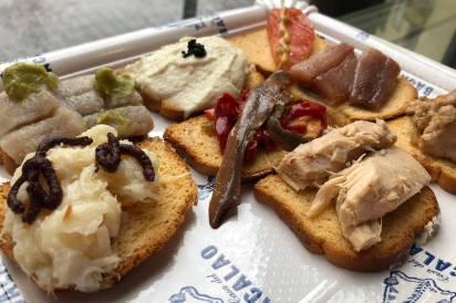 Fisch-Tapas in Madrid