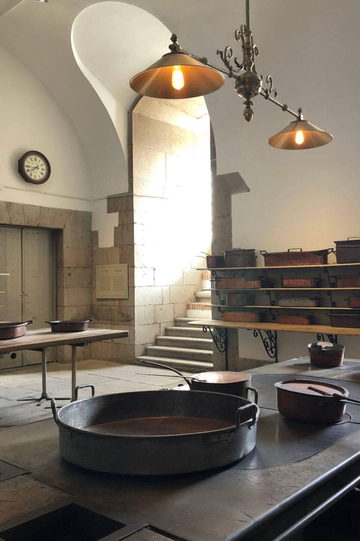 In der Schlossküche in Madrid