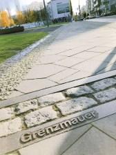 Früherer Grenzverlauf in Berlin