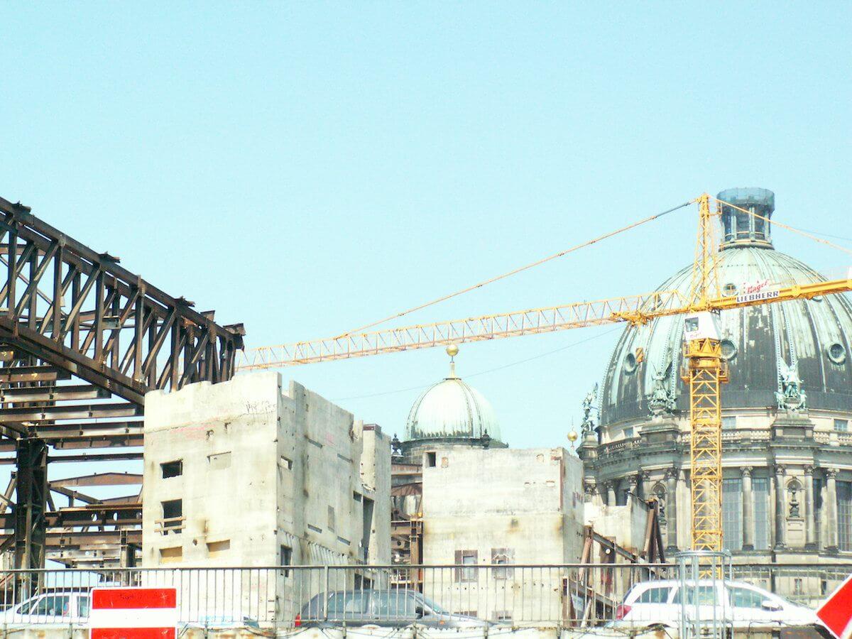 Baustelle Palast der Republik/Stadtschloss 2008