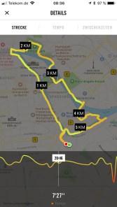 5 Kilometer-Laufstrecke durch Berlin
