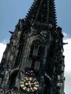 Lambertikirche mit den Käfigen
