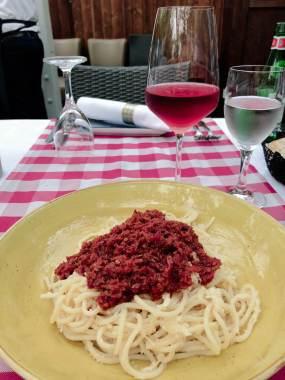 Spaghetti im Dell'Isola
