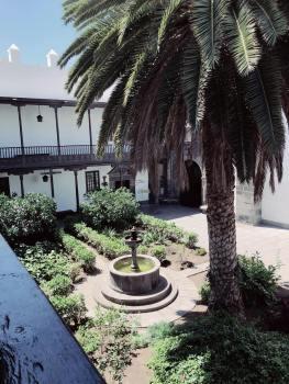 Innenhof Santa Ana