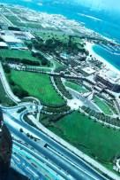 Blick vom Etihad Tower