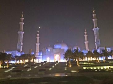 Moschee nachts