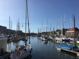 Harlingen ist ein typisches niederländisches Hafenstädtchen