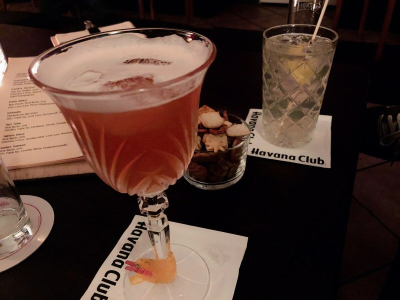 Cocktails im Klub Berlin