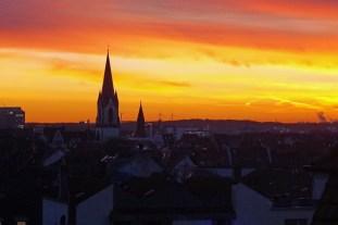 Ehrenfelder Sonnenuntergang
