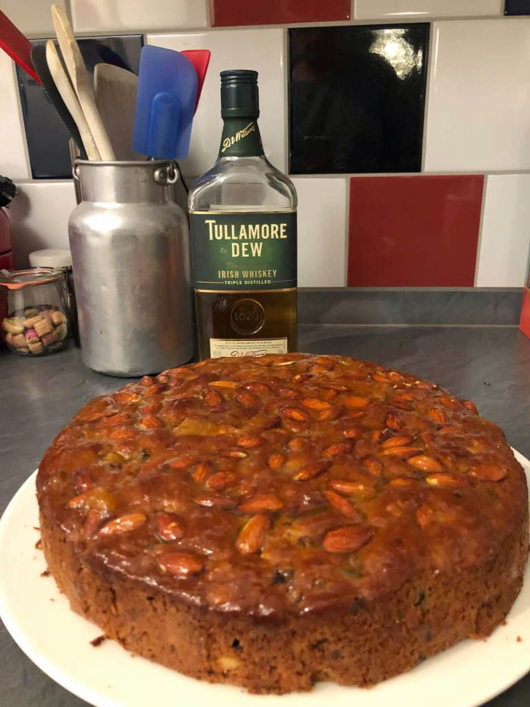 Irischer Früchtekuchen