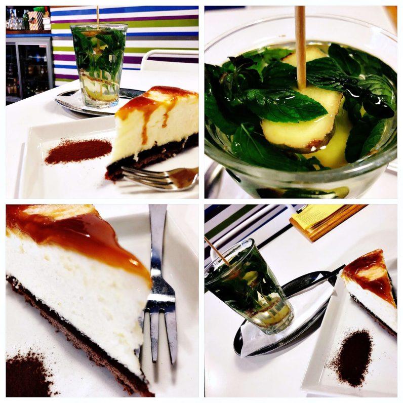 Cheesecake im Cafécafé