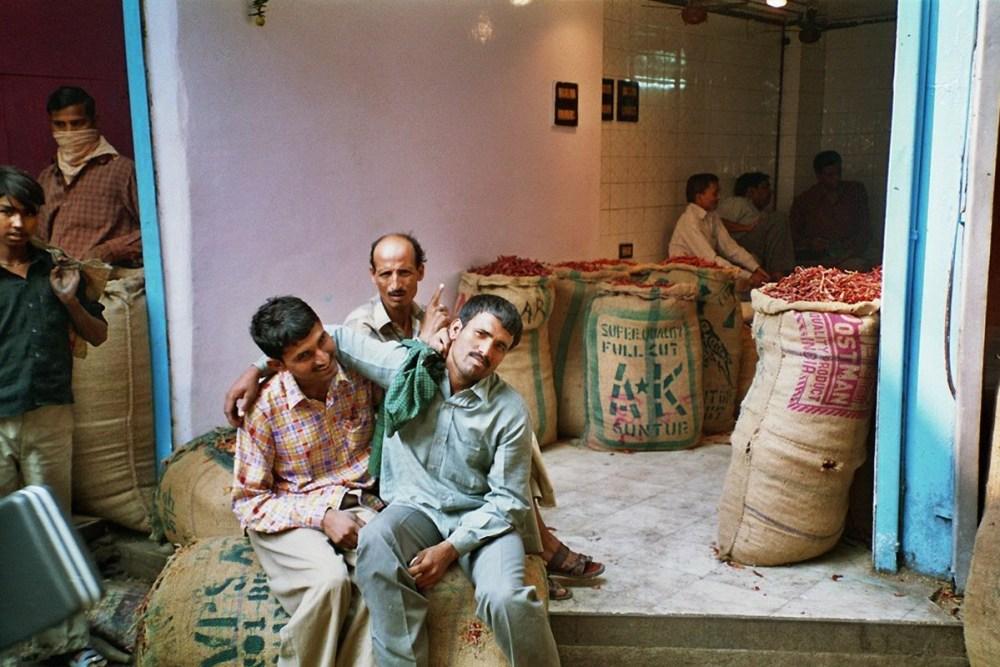 Gewürzmarkt in Delhi
