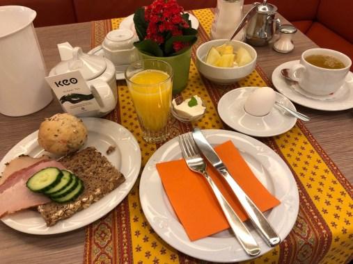 Frühstück im Martinihof