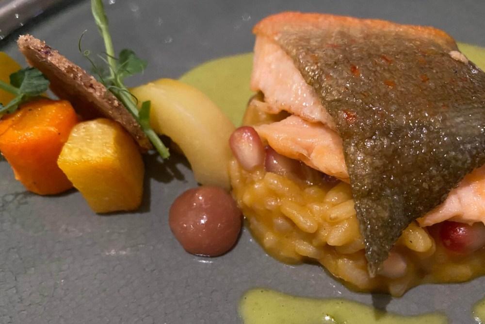 Fine dining im Giverny - eines der besseren Restaurants in Münster