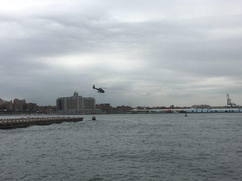 Hubschrauberrundflug in New York: Heliport