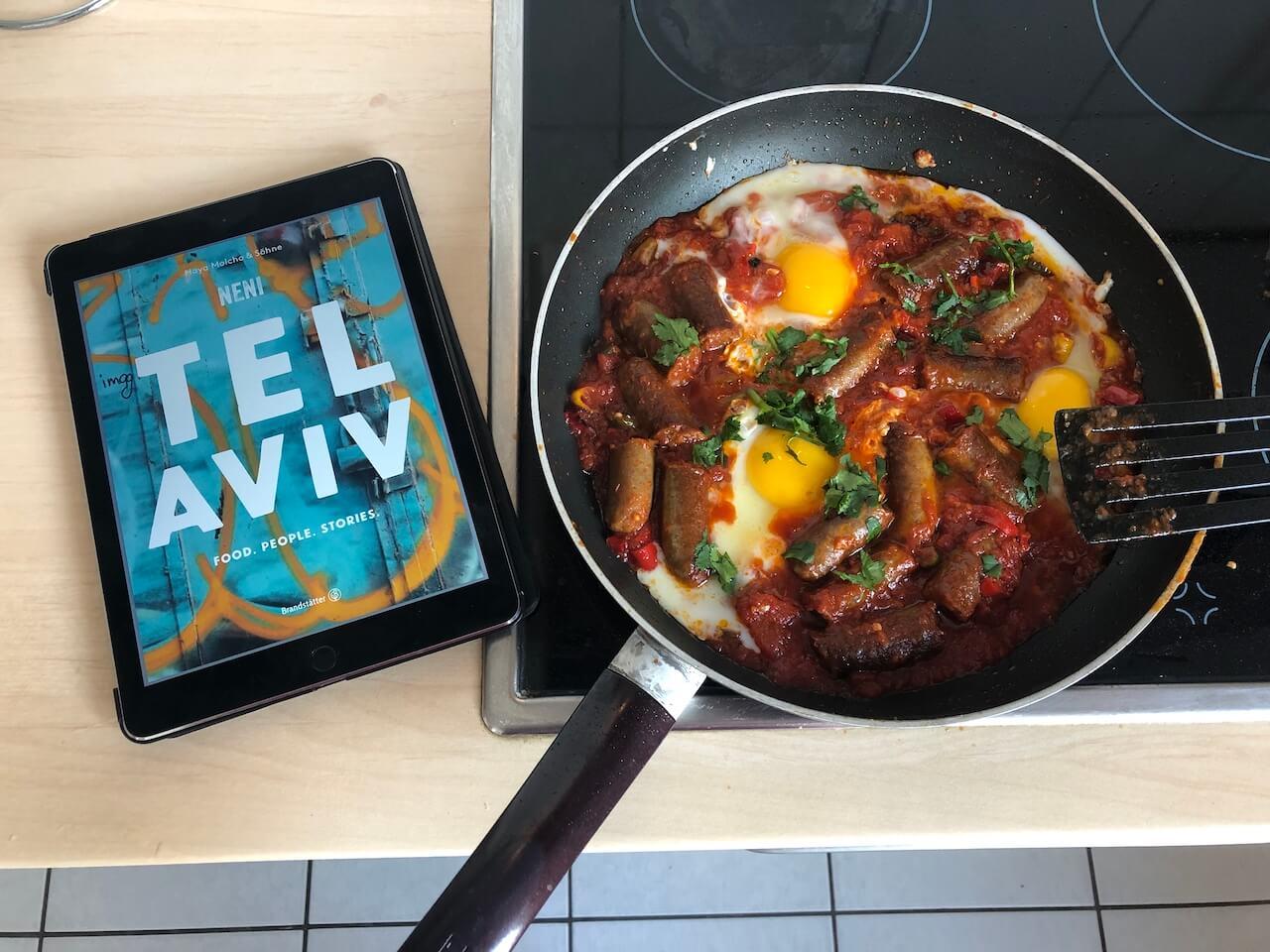 Kulinarische Reisevorbereitungen: Tel Aviv und das Neni-Kochbuch