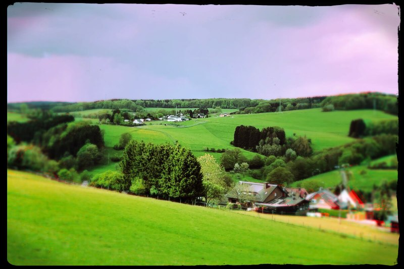 Blick ins Tal auf dem Waldmythenweg