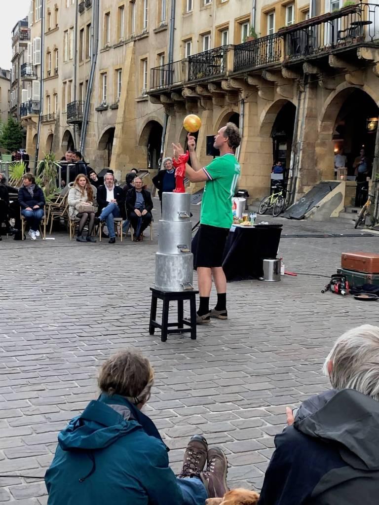 Metz: Wo man Europa zu fassen bekommt