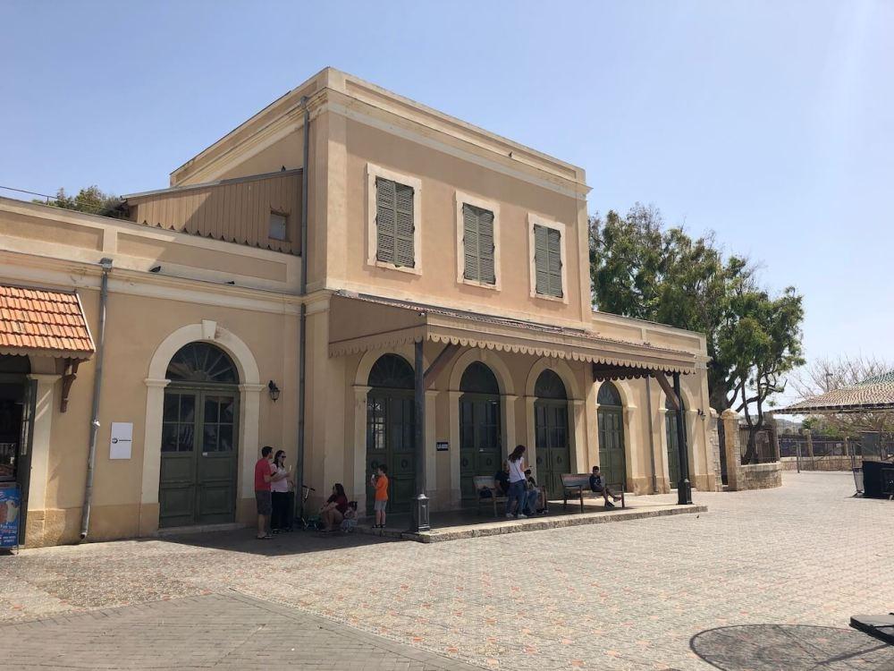 Alter Bahnhof von Tel Aviv