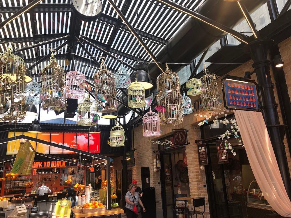 Sarona Markt in Tel Aviv