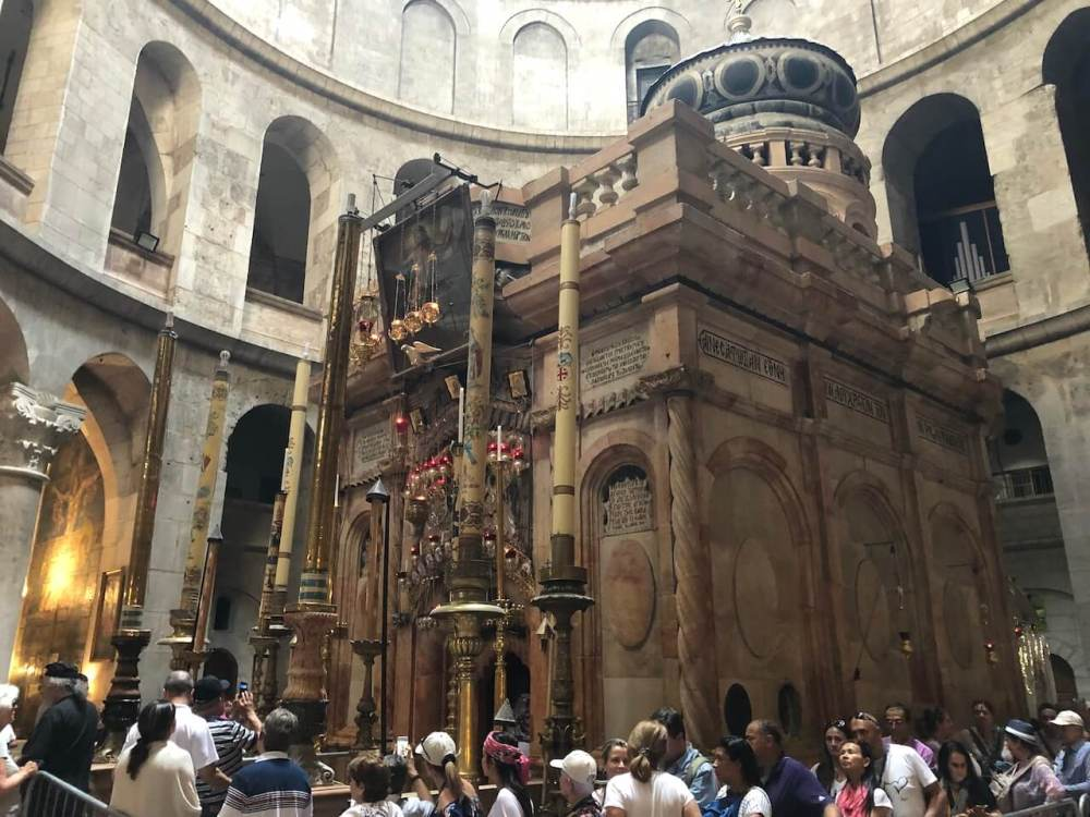 Grabeskapelle in Jerusalem