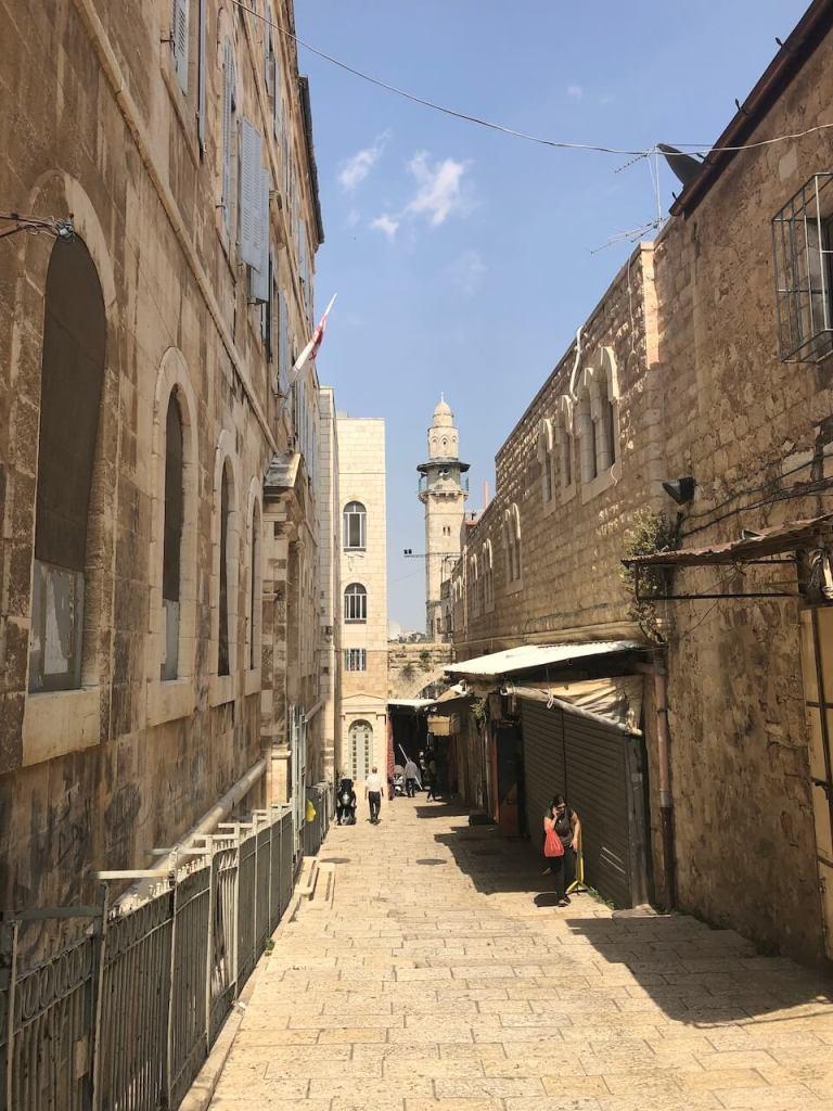 Minarett in Jerusalem