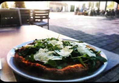 Pizza in italienischem Restaurant in Münster