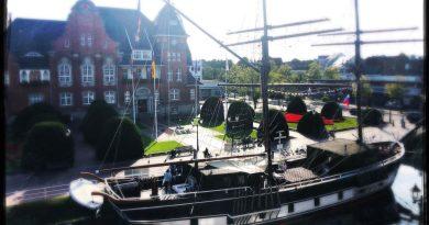 Papenburg: Schiffe überall