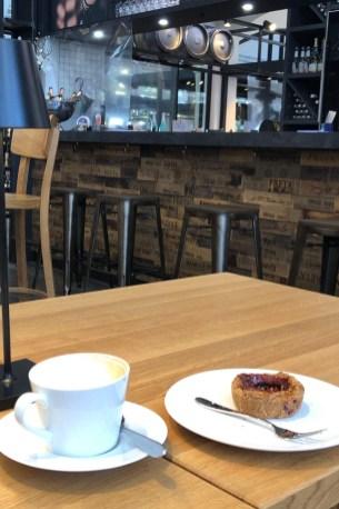 Kaffee in der Markthalle
