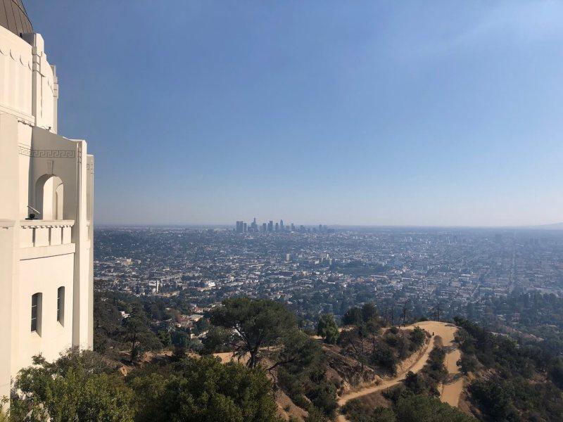 Aussicht vom Griffith-Observatorium