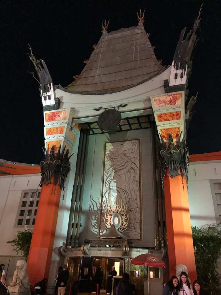 Chinese Theater in Los Angeles
