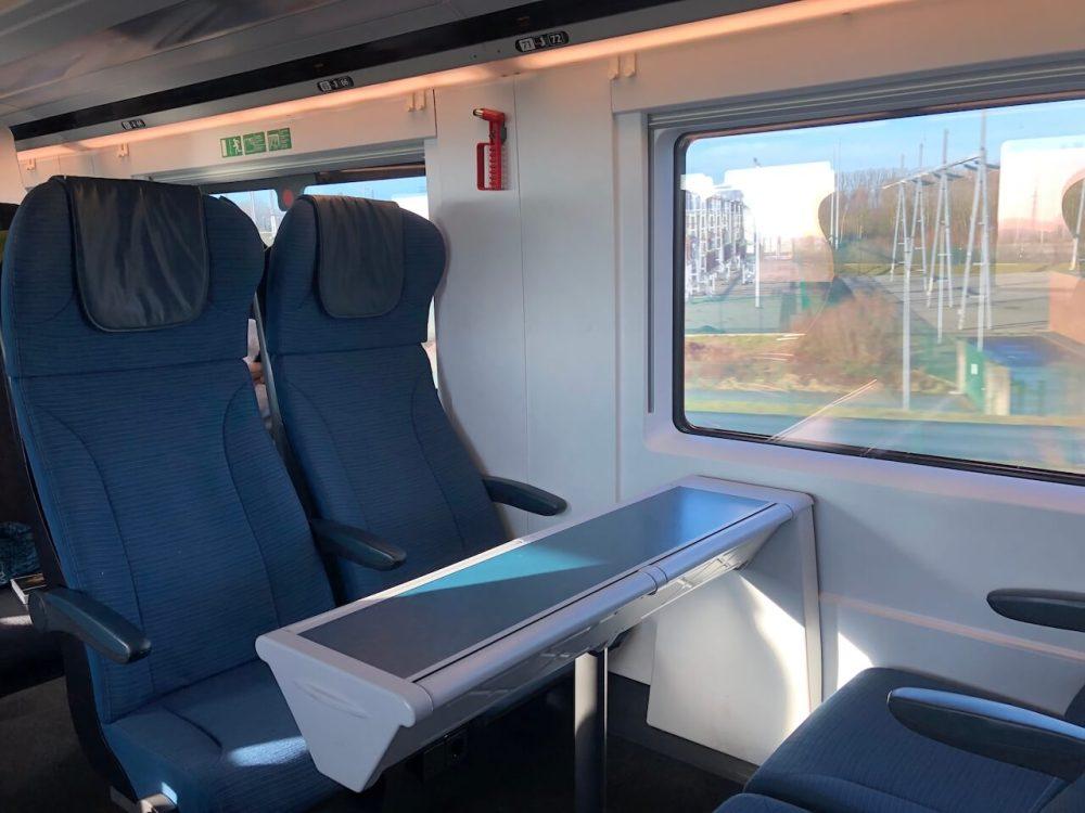 Eurostar Innenraum