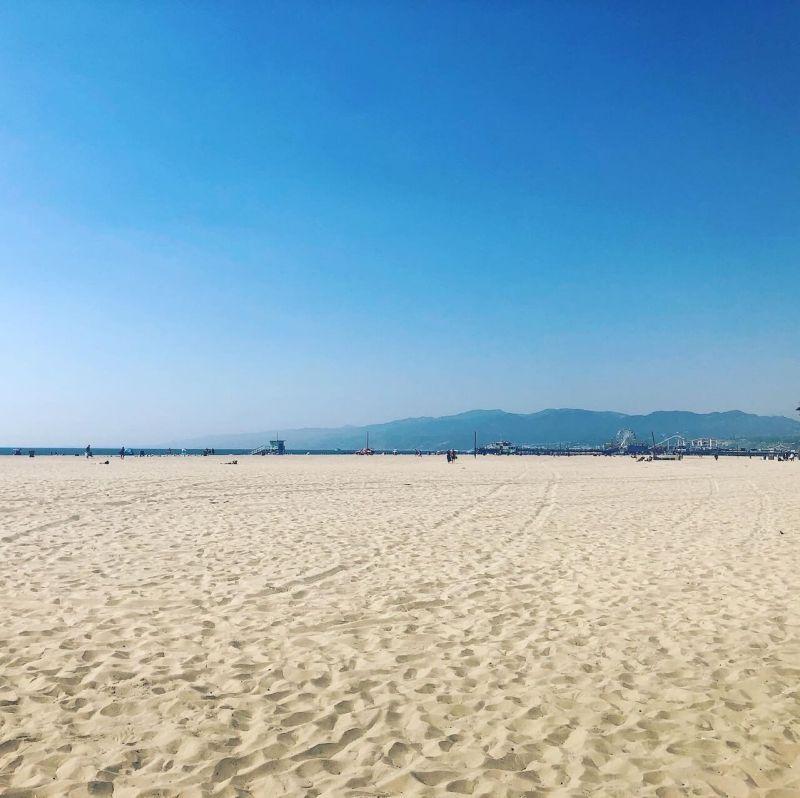 Los Angeles Strände Santa Monica und Venice Beach