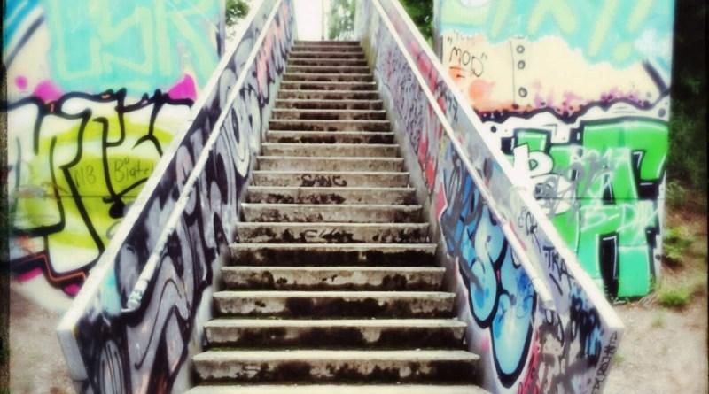 Treppe am Herkulesberg