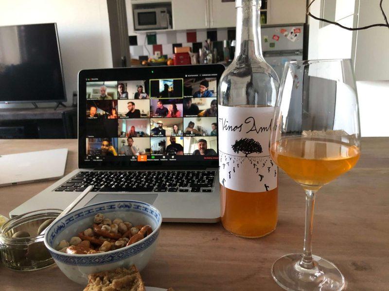 Digitale Weinverkostung in Zeiten von Corona