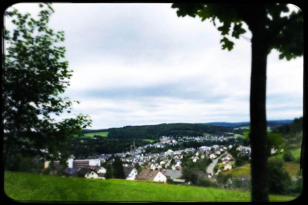 Blick auf Bad Berleburg