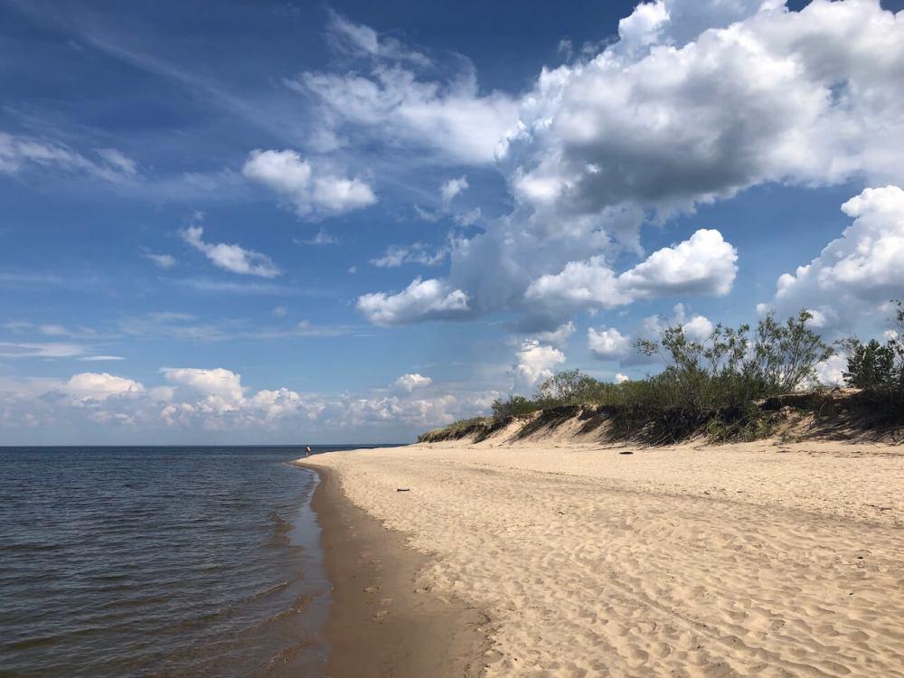 Ostsee-Strände menschenleer