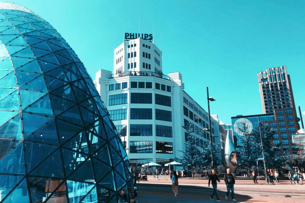 Eindhoven: industriell-futuristisch