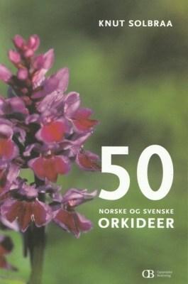 50 norske og svenske orkideer
