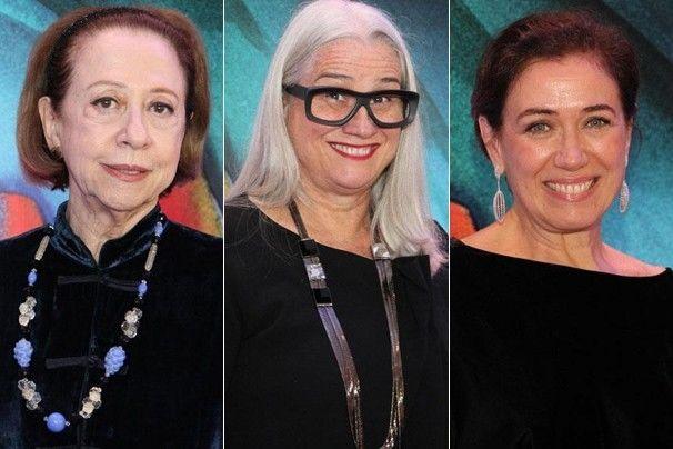 Fernanda Montenegro, Vera Holtz e Lília Cabral. Foto: Divulgação