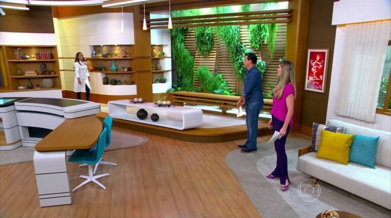 Atração teve o seu espaço ampliado nos estúdios da Globo SP (Foto: Reprodução/TV Globo)