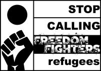 Refugee struggle for freedom
